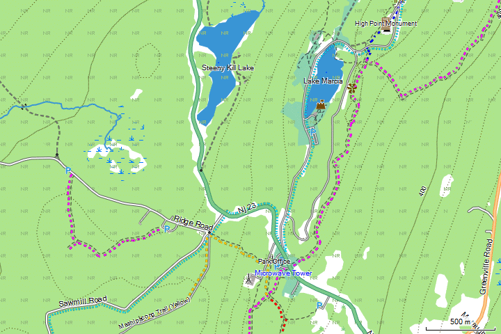 USA Northeast OSM Topo Routable GMapTool