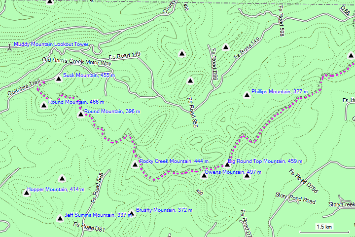 USA South Central OSM Topo Routable | GMapTool
